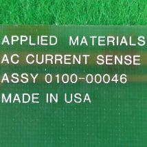 AMAT 0100-00046 w PWB AC CURRENT SENSE, USED