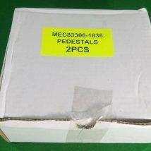 TOKYO ELECTRON MEC83306-1036 PEDESTAL ANTI-ETCH 150MM LOT OF 2, NEW