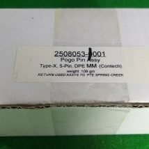 TOKYO ELECTRON 2508053-0001 POGO PIN ASSEMBLY, NEW