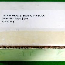 TOKYO ELECTRON 2507261-0001 STOP PLATE HDX-5 PJ-MAX, NEW