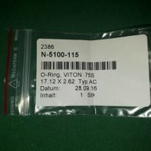 VVAT N-5100-115 O-ring VITON 75S 17.12*2.62 Typ AC, NEW