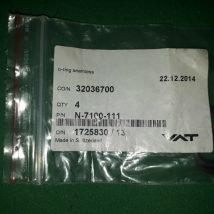 VAT N-7100-111 O-ring seamless, NEW