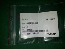 VAT 248041 Disc spring, NEW