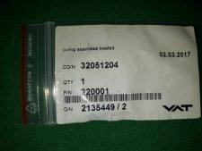 VAT 220001 O-ring seamless treated, NEW