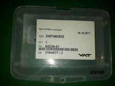 VAT 489226 Front plate compl, NEW