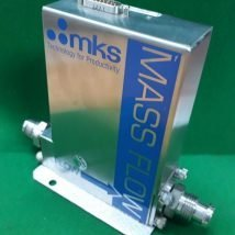 "MKS 1579A00132LR1BV713 Mass Flow Controller, He, 300 SLM, 1/2"" MVCR, USED"