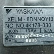 Yaskawa XELM-8DNNQY13 Motor Assembly, USED