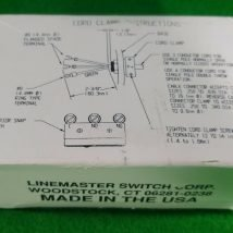 LINEMASTER 632-S CLIPPER FOOT SWITCH, NEW