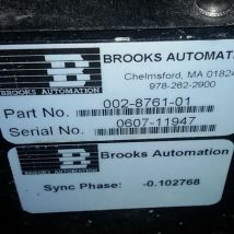 BROOKS AUTOMATION 017-0353-01 RELIANCE ROBOT with 002-8761-01, USED