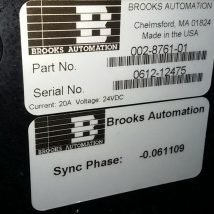 BROOKS AUTOMATION 15246R RELIANCE ROBOT with 002-8761-01, USED