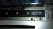 Yaskawa XU-ACL 4150 Ball Screw, 1400mm Travel, USED