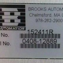 BROOKS AUTOMATION 152411R ROBOT, USED