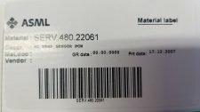 ASML SERV.480.22061 WC TEMP SENSOR PCW, NEW
