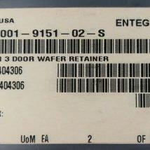 ENTEGRIS 4001-9151-02-S A300 GEN 3 DOOR WAFER RETAINER 10 PER BAG, NEW