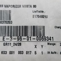 VARIAN E17049210 VAPORIZING BLANKOFF, NEW