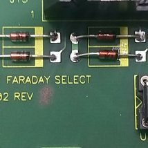 VARIAN E15000902 PCB ASSY I/V CONVERTER FARADAY SELECT BOARD, NEW