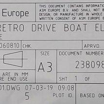 ASM 2380986-01 RETRO DRIVE BOAT ELEVATOR, NEW