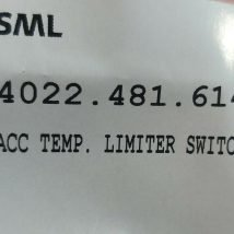 ASML 4022.481.61421 ACC TEMP LIMIT SWITCH 15C, NEW