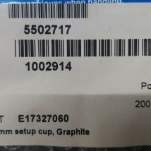 VARIAN E17327060 300MM SETUP CUP, GRAPHITE, NEW