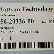 MATTSON 456-20326-00 SEAL, FLANG RING TYPE 1 HL, NEW