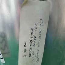 TOKYO ELECTRON 02-190214D01 ASSY CONTAINER 3 VALVE, NEW