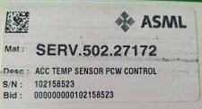 ASML SERV.502.27172 ACC TEMP SENSOR PCW CONTROL, NEW