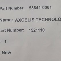 AXCELIS 1521110 HIVERTEC PCB BOARD REV. B, NEW