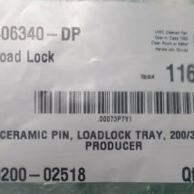 AMAT 0200-02518 CERAMIC PIN, LOADLOCK TRAY, 200/300MM PRODUCER Lot of 12, NEW