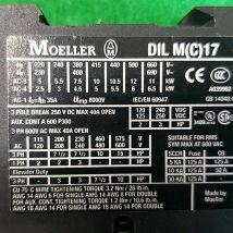 Moeller DIL M 17-01 3POLE BREAK 250V DC MAX 40A, USED