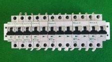 MOELLER FAZ-C10 (3), FAZ-C6(2), FAZ-C20, FAZ-C32 CIRCUIT BREAKER, USED