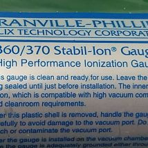 GRANVILLE 360/370 STABIL-ION GAUGE, NEW