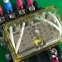 IDEC RH4B-U RELAY SH4B-05B BASE, USED