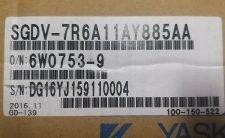 Yaskawa SGDV-7R6A11AY885AA AC SERVO DRIVER , NEW