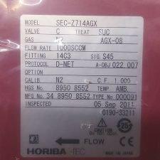 AMAT 0190-33211 HORIBASTEC SEC-Z714AGX GAS N2 1000SCCM, NEW