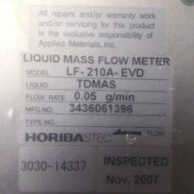 AMAT 3030-14337 HORIBASTEC LIQLID MASS FLOW METER LF-210A-EVD, NEW