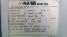 NANOmetrics 7000-0593 NANOSPEC 9000I 4000C, USED