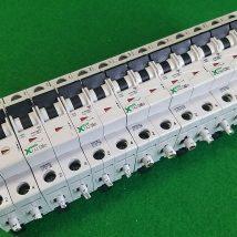 MOELLER FAZ-C20, FAZ-C10, FAZ-C6(2), FAZ-C40(2), FAZ-C16 CIRCUIT BREAKER, USED